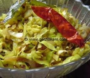 Kerala  Cabbage Thoran