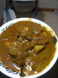 Mutton Curry Kerala style