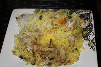 Andhra Simple Chicken Biriyani