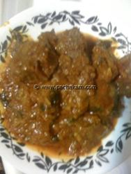 Kadhai Mutton/Kadai Mutton/Khadai Ghost
