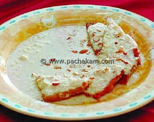 North Indian  Shahi Tukda