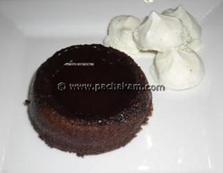 Warm Dark Chocolate Pudding