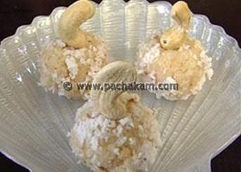 Coconut Ladoo Video Recipe