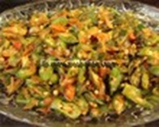 Okra Masala Video Recipe