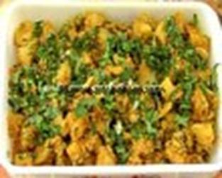 Aloo Matar Video Recipe - Indiainteracts