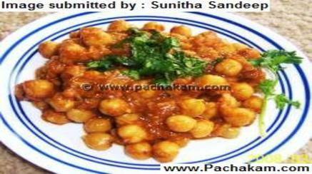 Channa Batura (Chole Pooril)