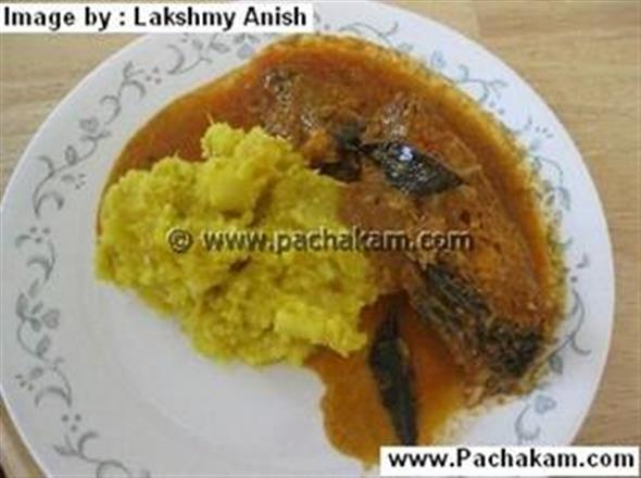 Kappa Meen Curry (Fish Curry)