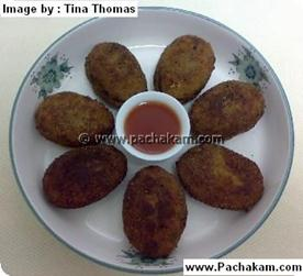 Tuna Fish Cutlet