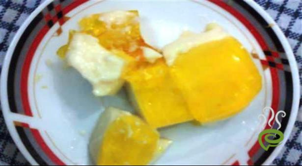Tasty Mango Jelly Pudding