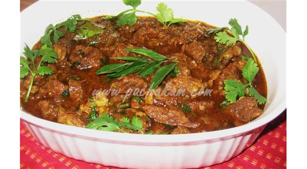 Beef Varutharacha Curry