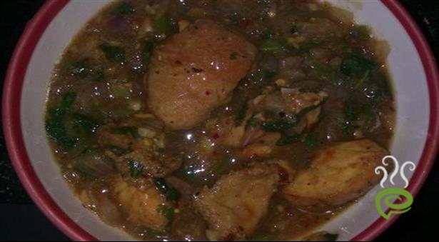 Chinese Chicken Manchurian Gravy