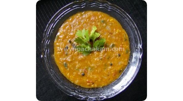 Spicy Masoor Dhal Curry
