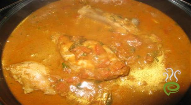 Chicken Curry In Chettinad Style
