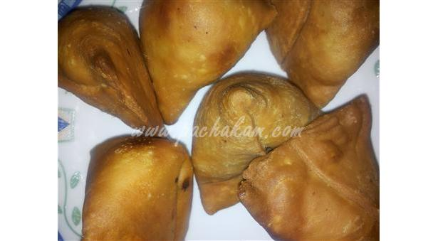 North Indian Style Vegetable Samosa