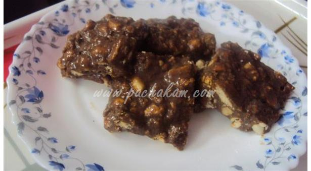 Peanut Chocolate Burfi