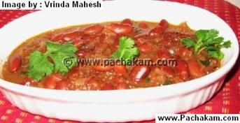 North Indian  Rajma Curry