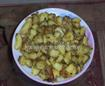 Potato Fry with raw spices