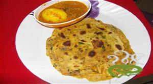 Healthy methi paratha