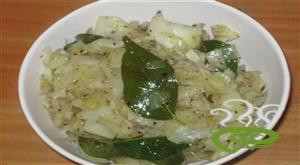 Cabbage pepper Fry