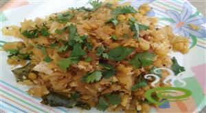 Cabbage Spicy Poriyal