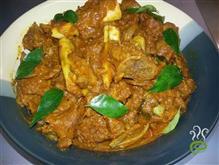 Spicy Mutton Curry.