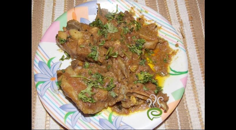 Mutton Chops ( Andhra Style ) | Pachakam