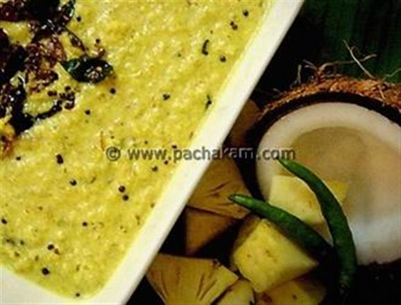 Pineapple Pachadi - Sweet Dish