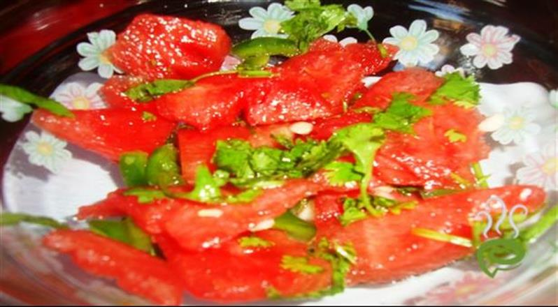 Watermelon Ice And Fire Salad | Pachakam