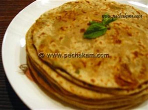 Aloo Paratha - North Indian Style