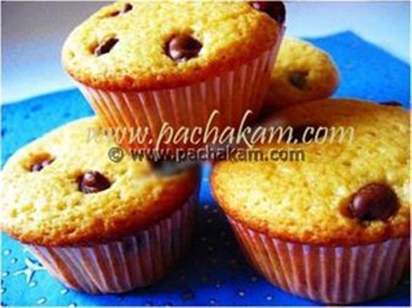 American  Chocolate Chip Muffins