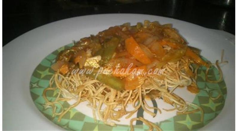 American Chopsuey (Step By Step Photos) | Pachakam