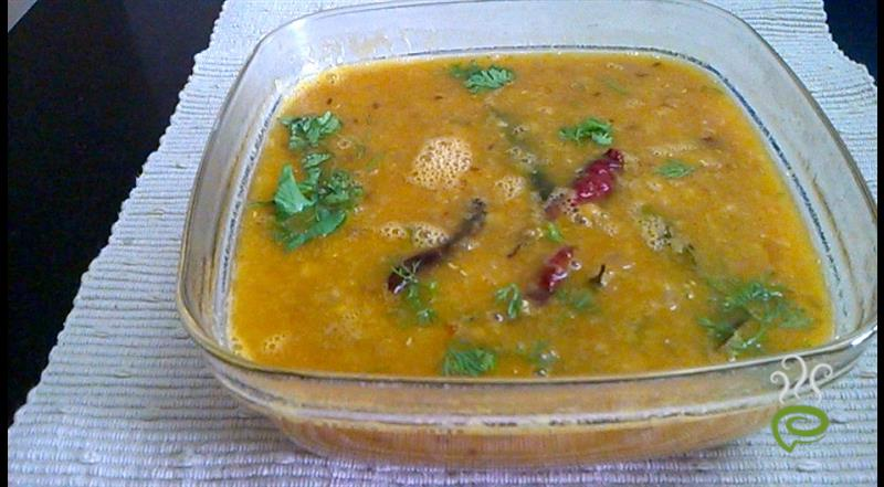 Andhra Style Tangy Tomato Dal