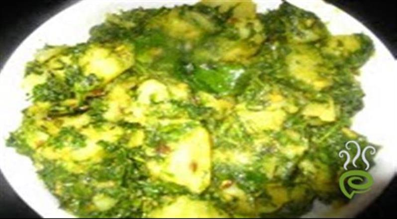 Authentic Aloo Methi