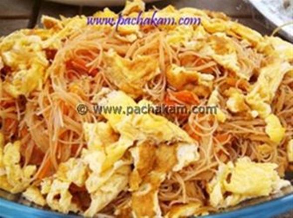 Bean Vermicelli And Prawn Stir Fry