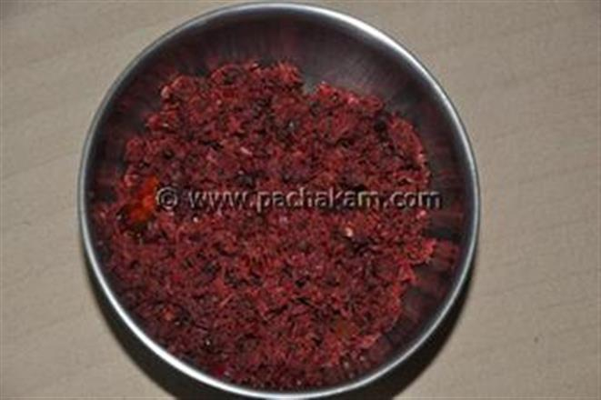 Beans - Beetroot Fry