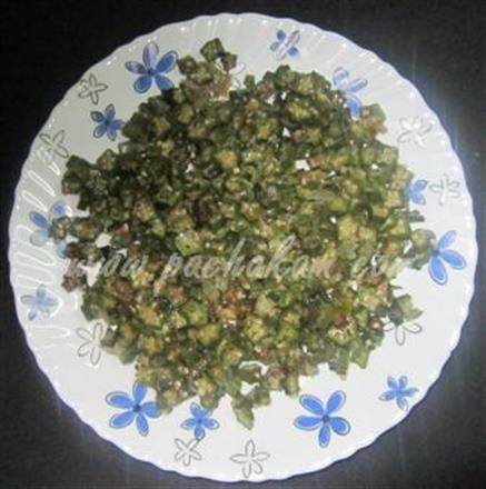 Bhindi Thoran In North Indian Preparation