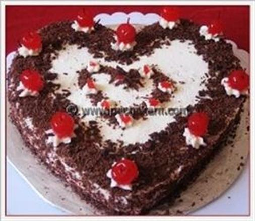 Black Forest Cake - Creamy