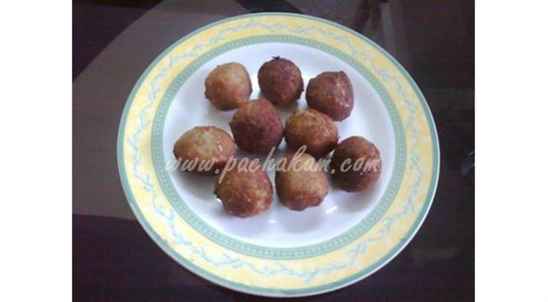 Bread Balls (Step By Step Photos)