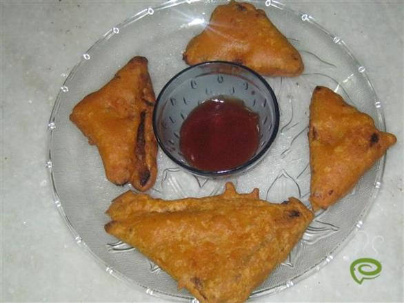 Bread Cheese Pakoda