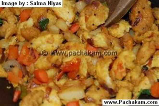 Bread Uppuma With Vegetables | Pachakam