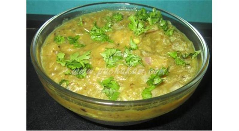 Brinjal Bhurta (Step By Step Photos)