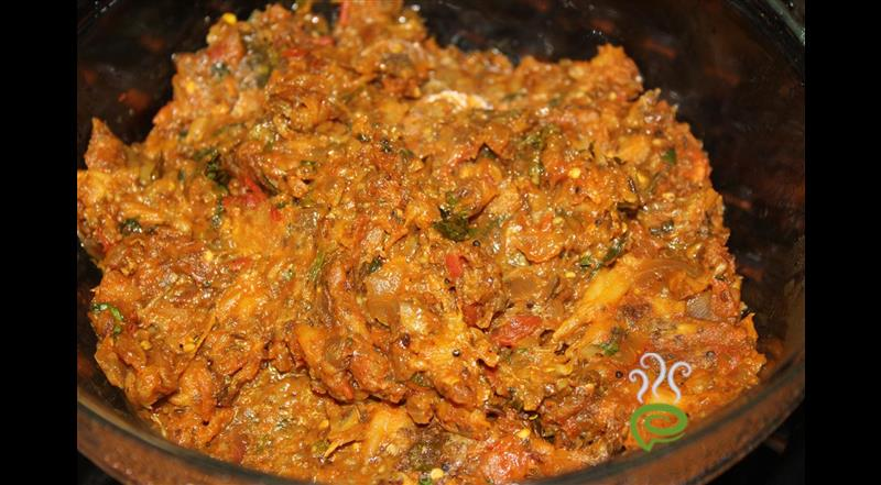 Brinjal Curry Hot & Spicy