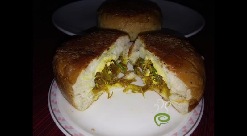 Bun Nirachathu-Chicken And Egg Stuffed Bun | Pachakam