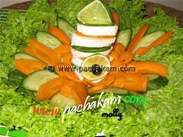 Celebrating Independence Day - Salad | Pachakam