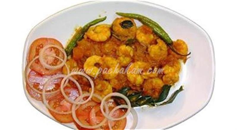 Chemmeen Curry (Prawns Curry) | Pachakam
