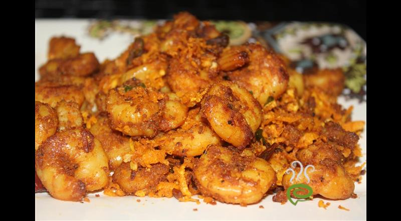 Chettinad Prawn Curry
