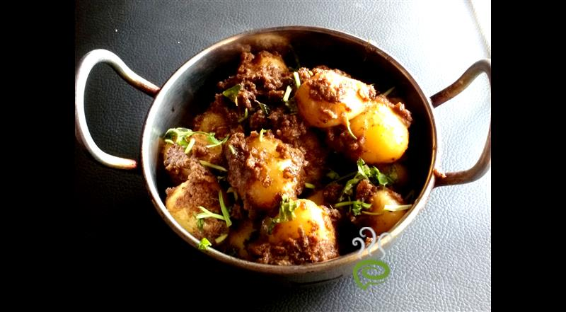 Chettinad Baby Potato Roast