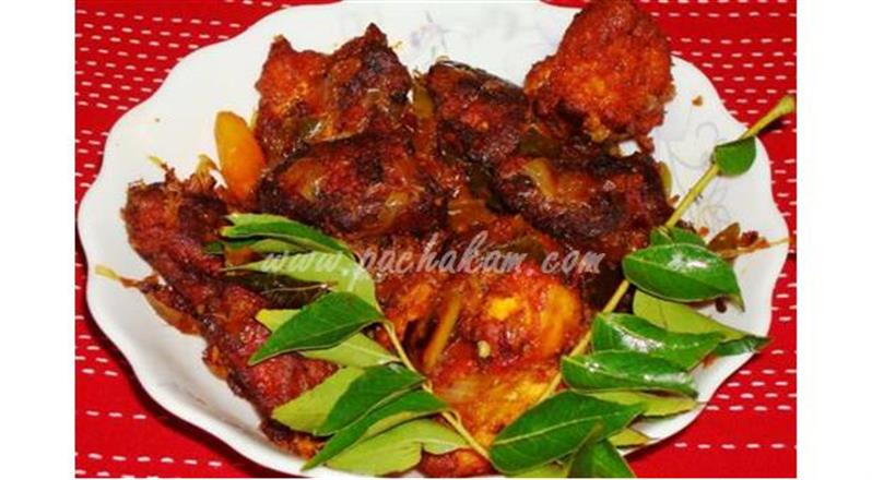 Chicken Chilly Dry Fry | Pachakam