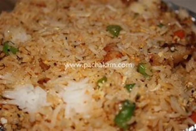 Chicken Fried Rice Easy | Pachakam