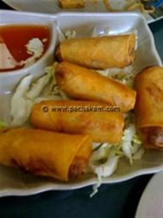Chicken Spring Rolls Easy | Pachakam